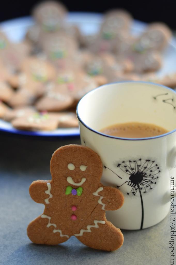 Sweet 'n' Savoury: Sugar Cookies shaped as Gingerbread men