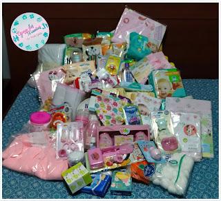 Presentes Chá de Bebê