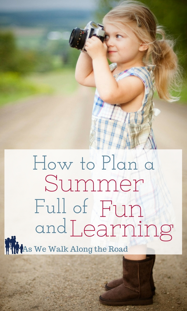Fun and educational activities for your homeschool this summer