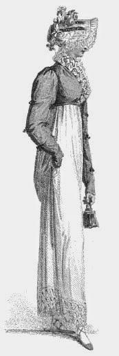 Walking dress  from Ackermann's Repository  (June 1814)
