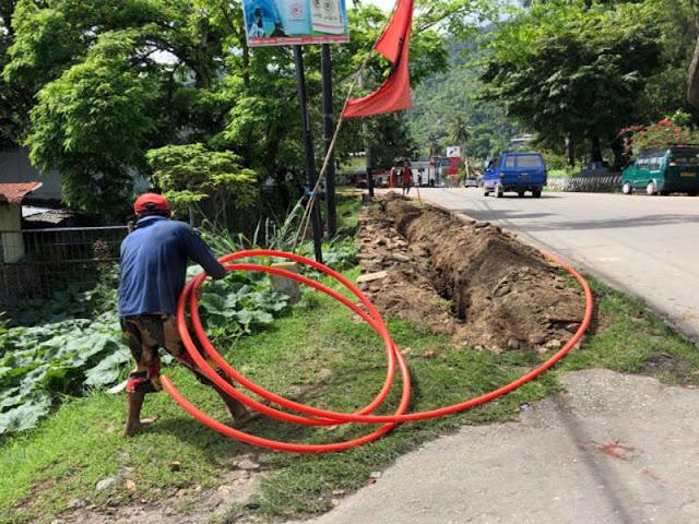 Diskominfo Papua Imbau Telkom Perhatikan Bekas Galian Kabel Optik