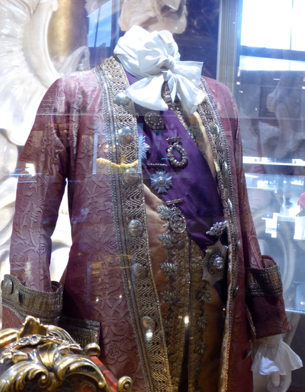 Beauty and the Beast Cogsworth live-action film costume