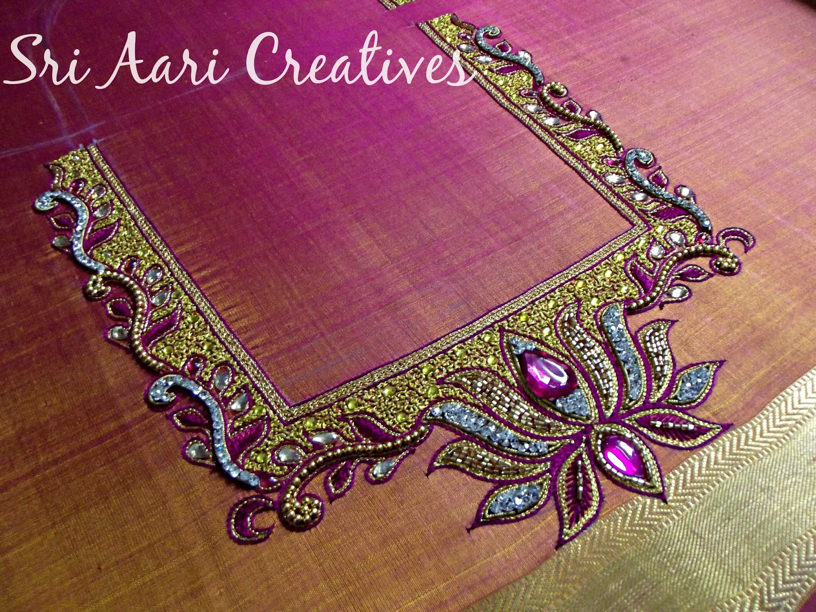 SRI AARI CREATIVES Best Bridal Blouse Designs In Chennai