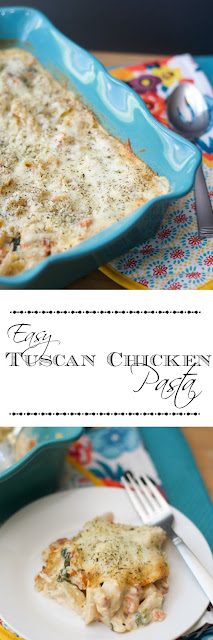 Easy-Tuscan-Chicken-Pasta-Recipe
