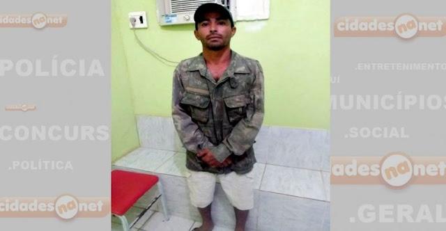 Homem é preso em Marcolândia suspeito de duplo homicídio