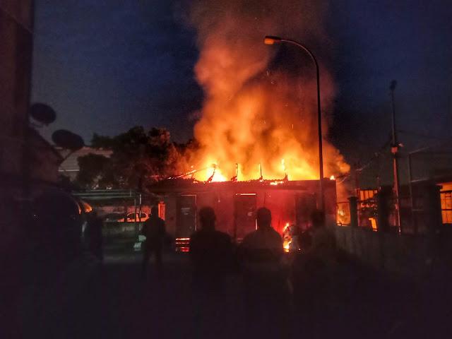 24.01.2019 Rumah Sampah Terbakar