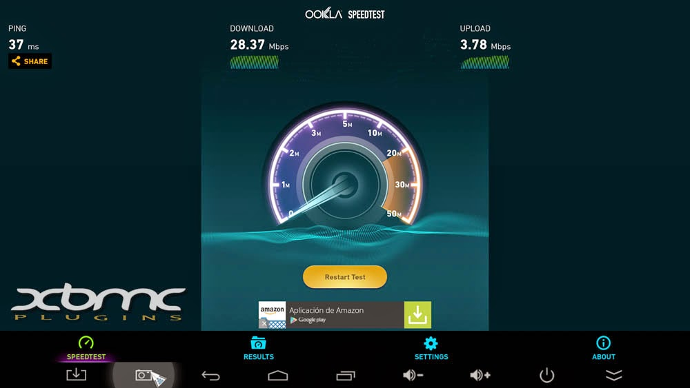 Benchmarks SPEEDTEST MINIX NEO X8 PLUS