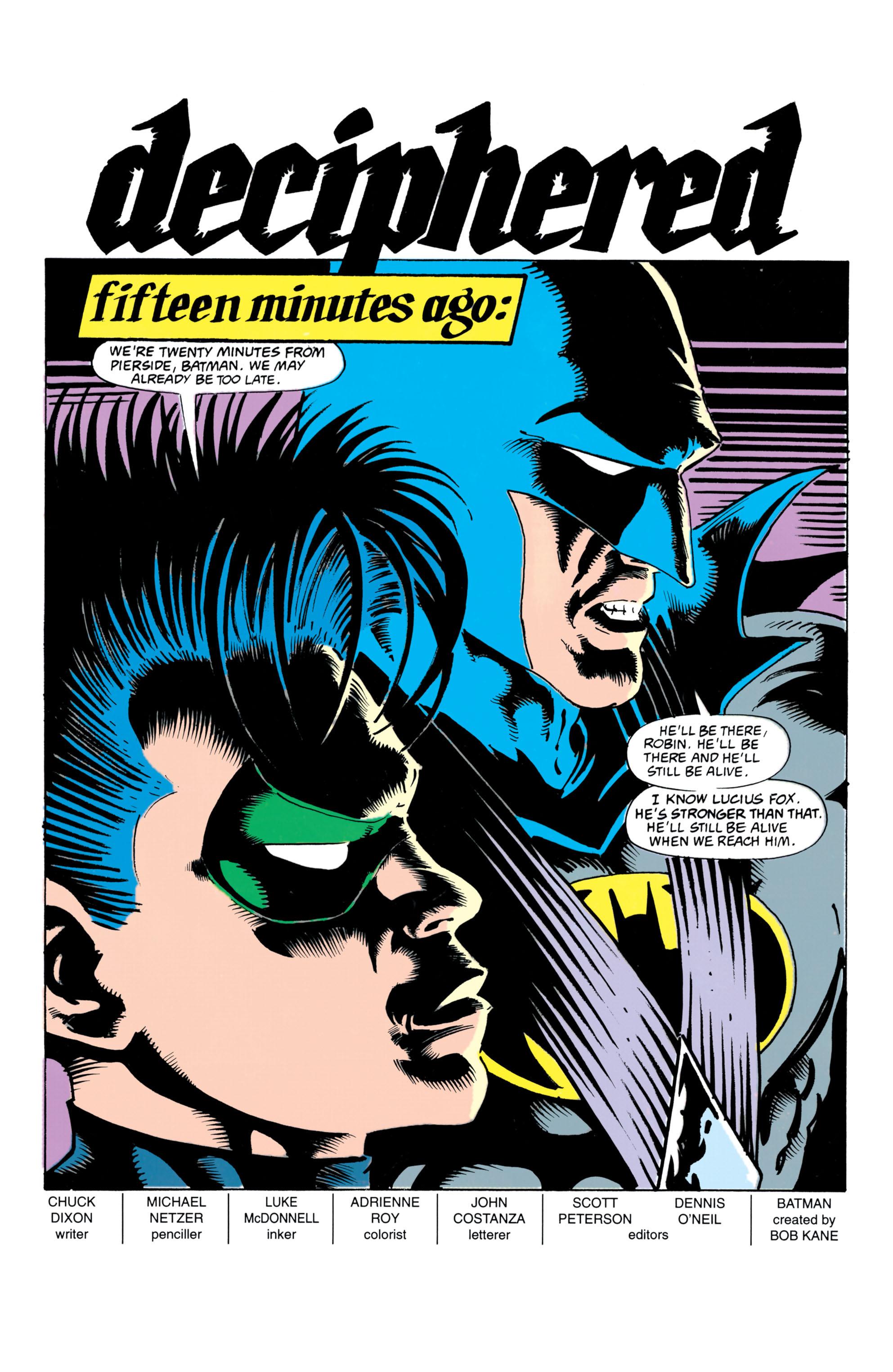 Detective Comics (1937) 658 Page 1