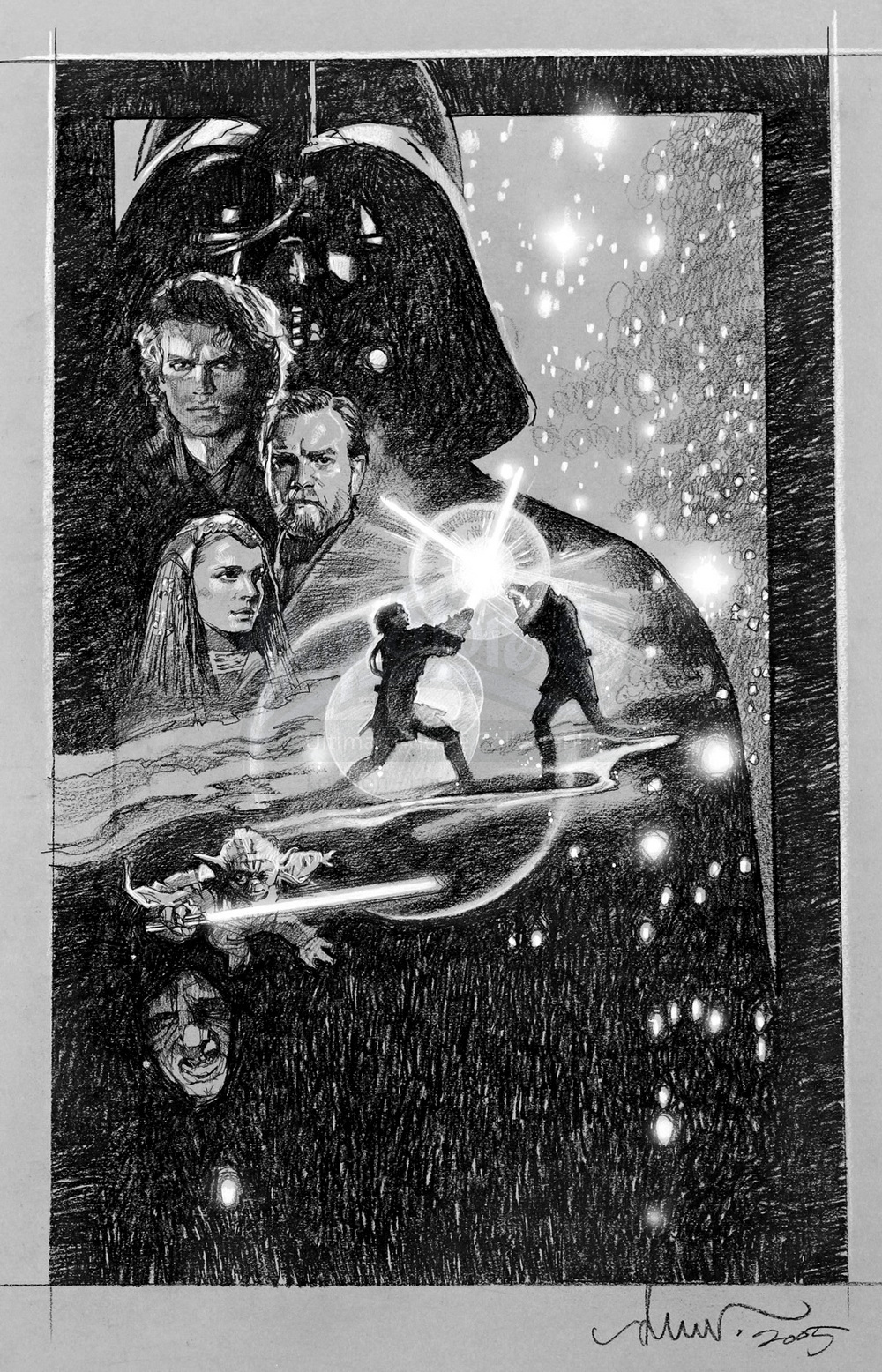 9dc17b26d The Geeky Nerfherder: Disney Has Asked Drew Struzan To Do The Posters For  The New Star Wars Film