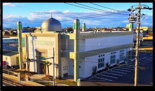 Daftar Masjid yang ada di Jepang