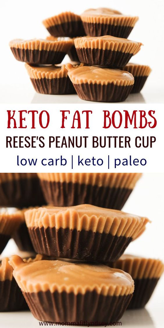 Chocolate Peanut Butter Keto Fat Bomb Recipe