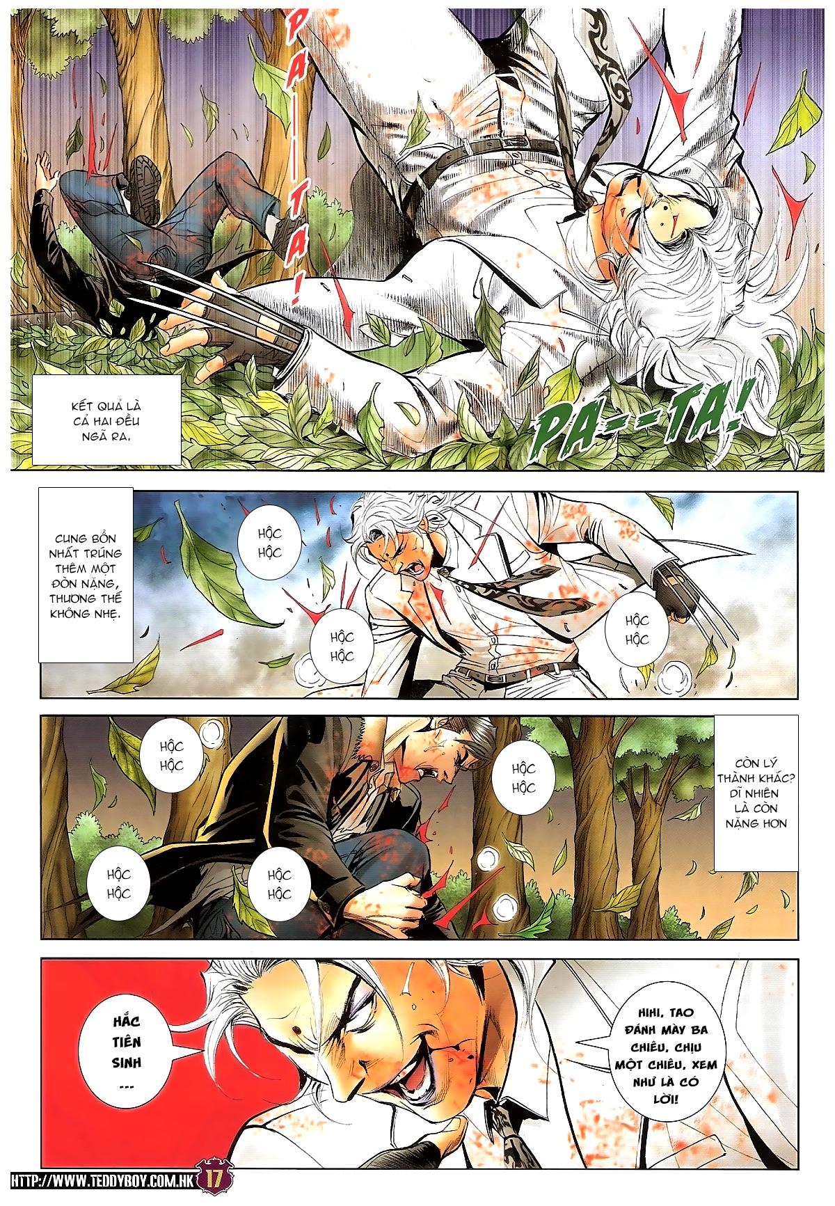 Người Trong Giang Hồ chapter 1677: sát thủ trang 14