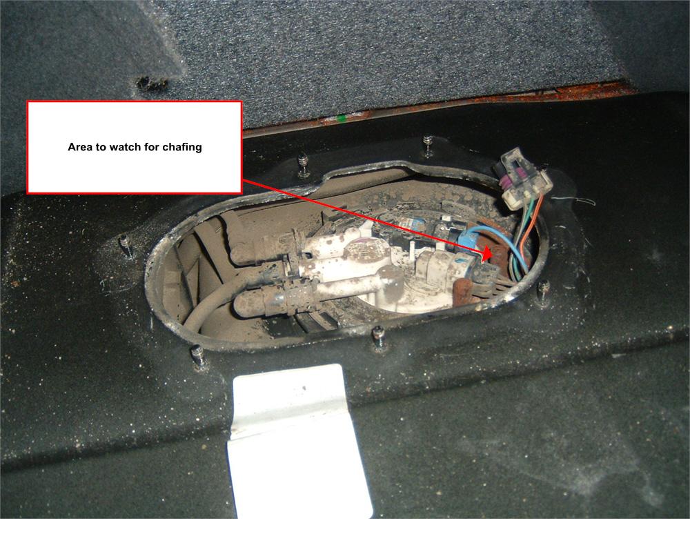 Chevy Cobalt Fuel Pump Wiring Harness 4 Wire Gmc