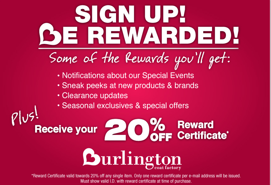 picture about Burlington Coat Factory Printable Coupons named Within just-Retail outlet Printable Discount coupons, Personal savings and Specials! Printable