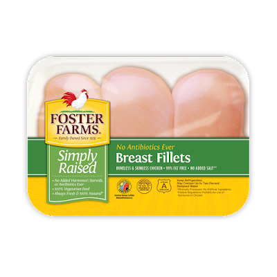Foster Farms Simply Raised Chicken Breast Fillets