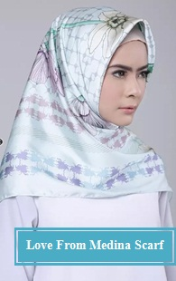 Love From Medina Scarf