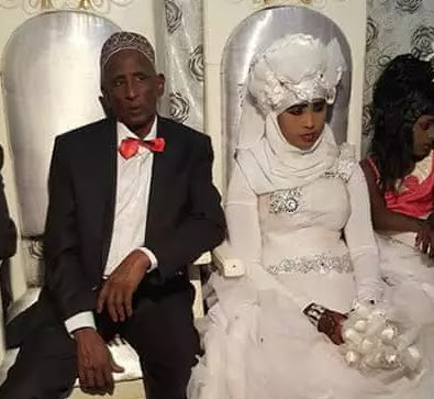 60 year old marries 14 years old girl
