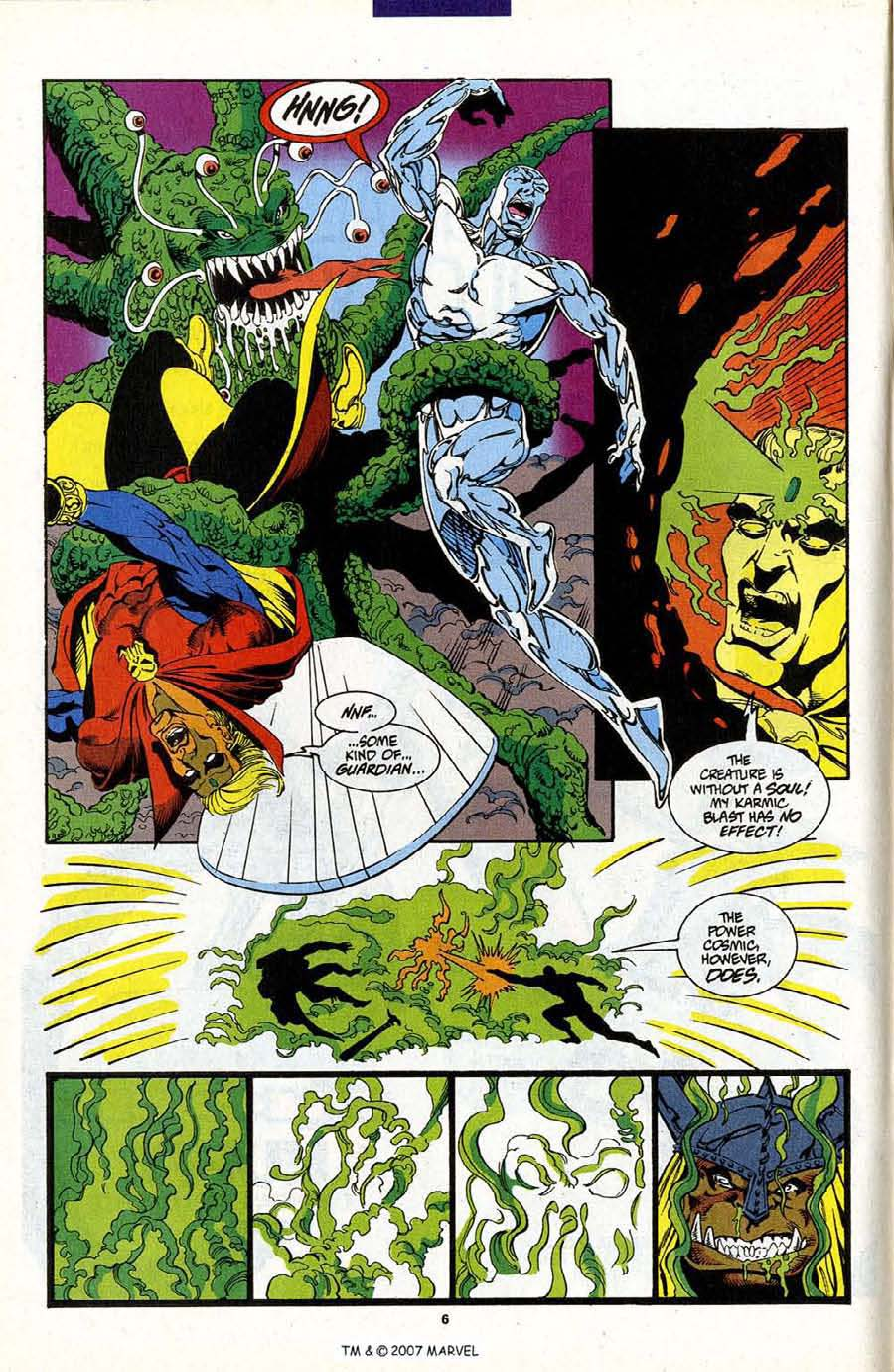 Read online Silver Surfer (1987) comic -  Issue #87 - 8