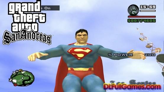 GTA San Andreas Superman Mod Free Download Pc
