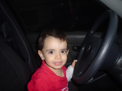 Paixão infantil por carros
