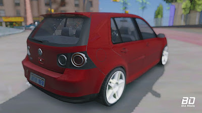 Download mod car , VW Golf GTI 2008 para GTA San Andreas, GTA SA PC