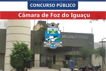 Concurso Câmara de Foz do Iguaçu 2018