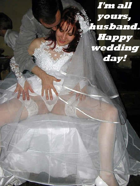 sissy bride being but fucked