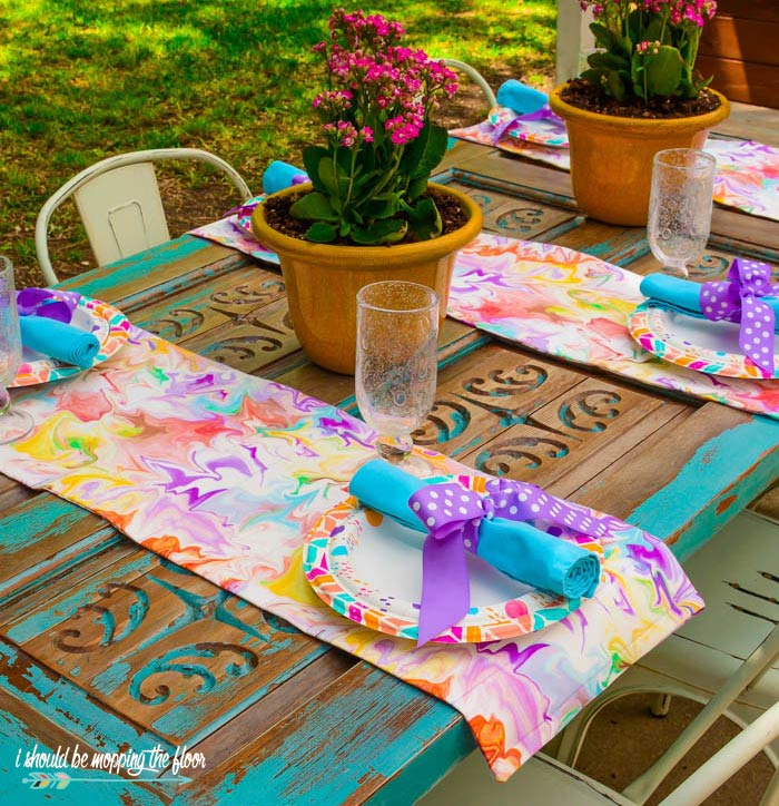 Summer Table Runners