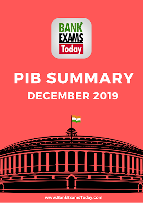 PIB Summary: December 2019
