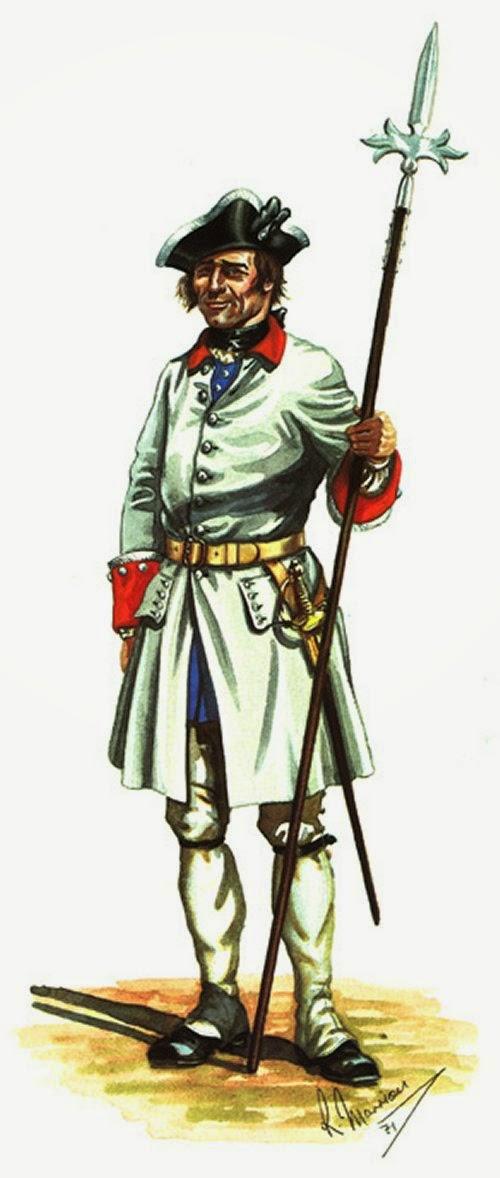 La Reine Infanterie Sergant picture 2