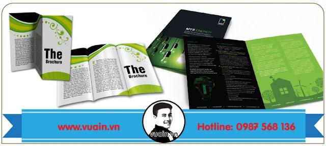 mẫu brochure quảng cáo