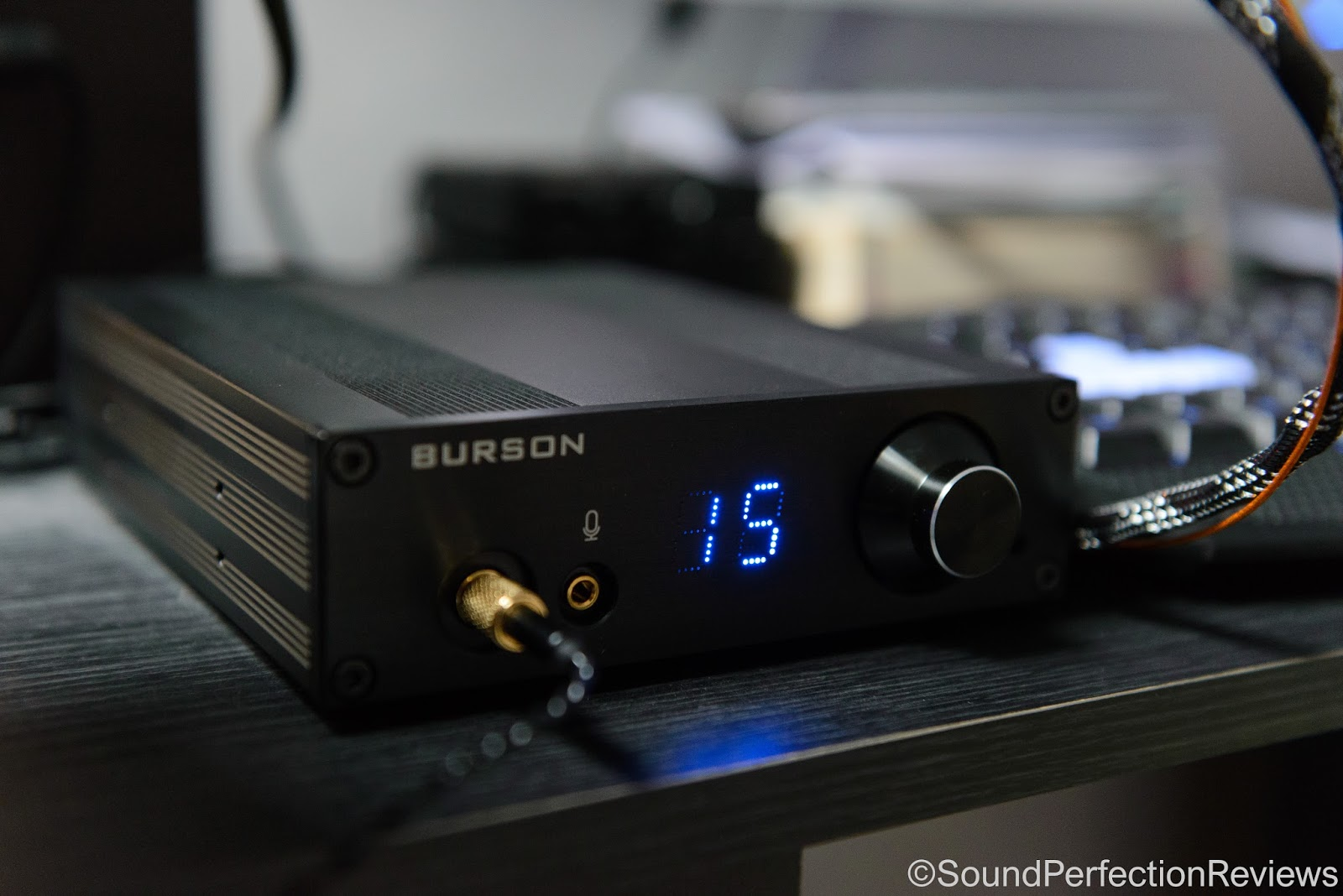 Review Burson Audio Play Class A Headphone Amp Dac Op Rollers Low Noise Microphone Pre With Dream
