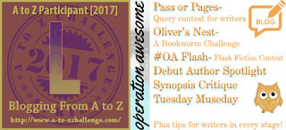 #AtoZChallenge 2017 Operation Awesome L is for Letting Characters Listen