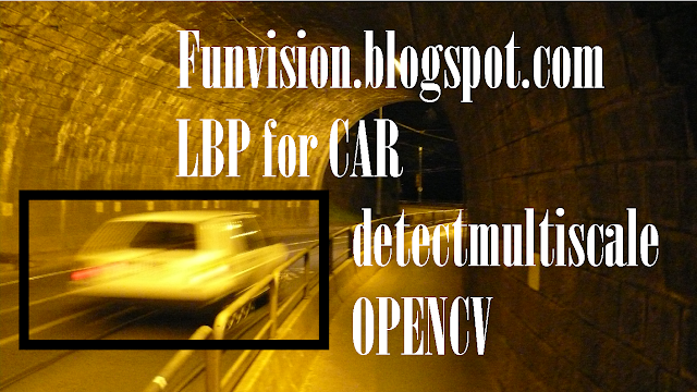 Car LBP cascade detection opencv