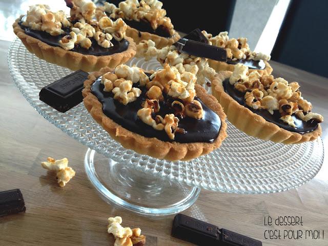 http://ledessertcestpourmoi.blogspot.com/2016/06/tartelettes-au-chocolat-et-popcorn.html