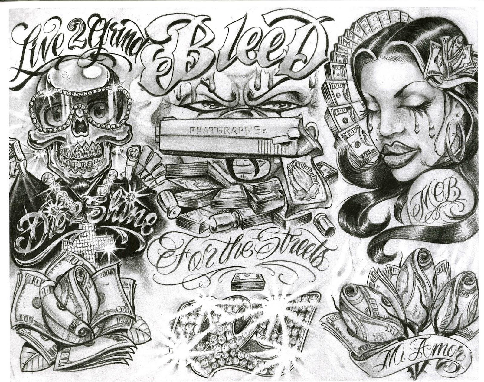 Gangsta Girls And Lowriders Wallpaper Daniel Arte Chicano Arte