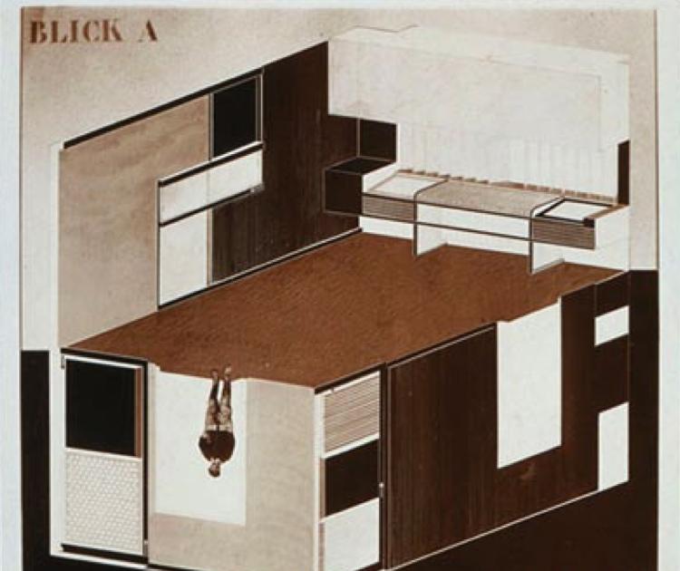 Site specific expanded drawing el lissitsky - Cabinet katleen planning ...