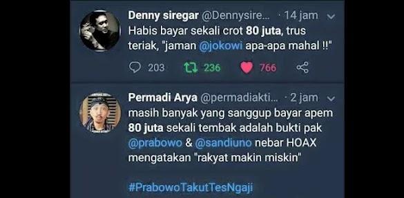 Pendukung Jokowi Ramai Komentari Kasus Vanessa Dan Menyeret-nyeretnya Ke Pilpres