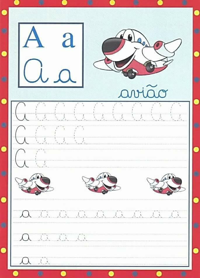 Caderno De Caligrafia Pontilhado Para Imprimir Aprender E Brincar
