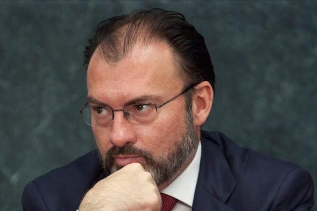 Defensa de El Chapo prepara juicio político contra Videgaray; violó tratados de extradición.