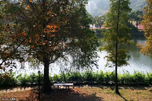 中文大學紅葉iPhoneography,未完湖,地址及地圖