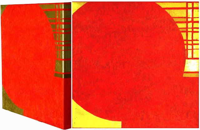 Bild No. 250312 GZ  Acryl und Blattgold auf Leinwand XL, 50 x 50 cm, Dagmar  Mahlstedt