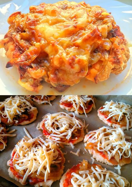Cebulaki / Mini pizze cebulowe
