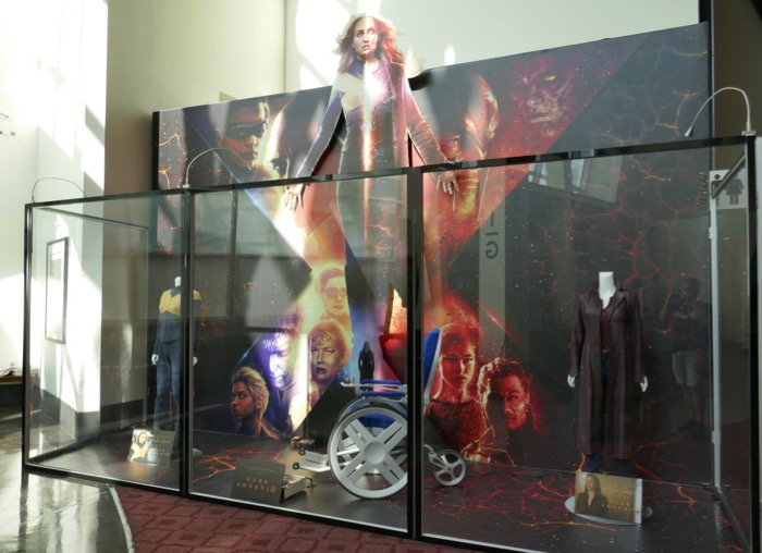 X-Men Dark Phoenix movie costumes prop