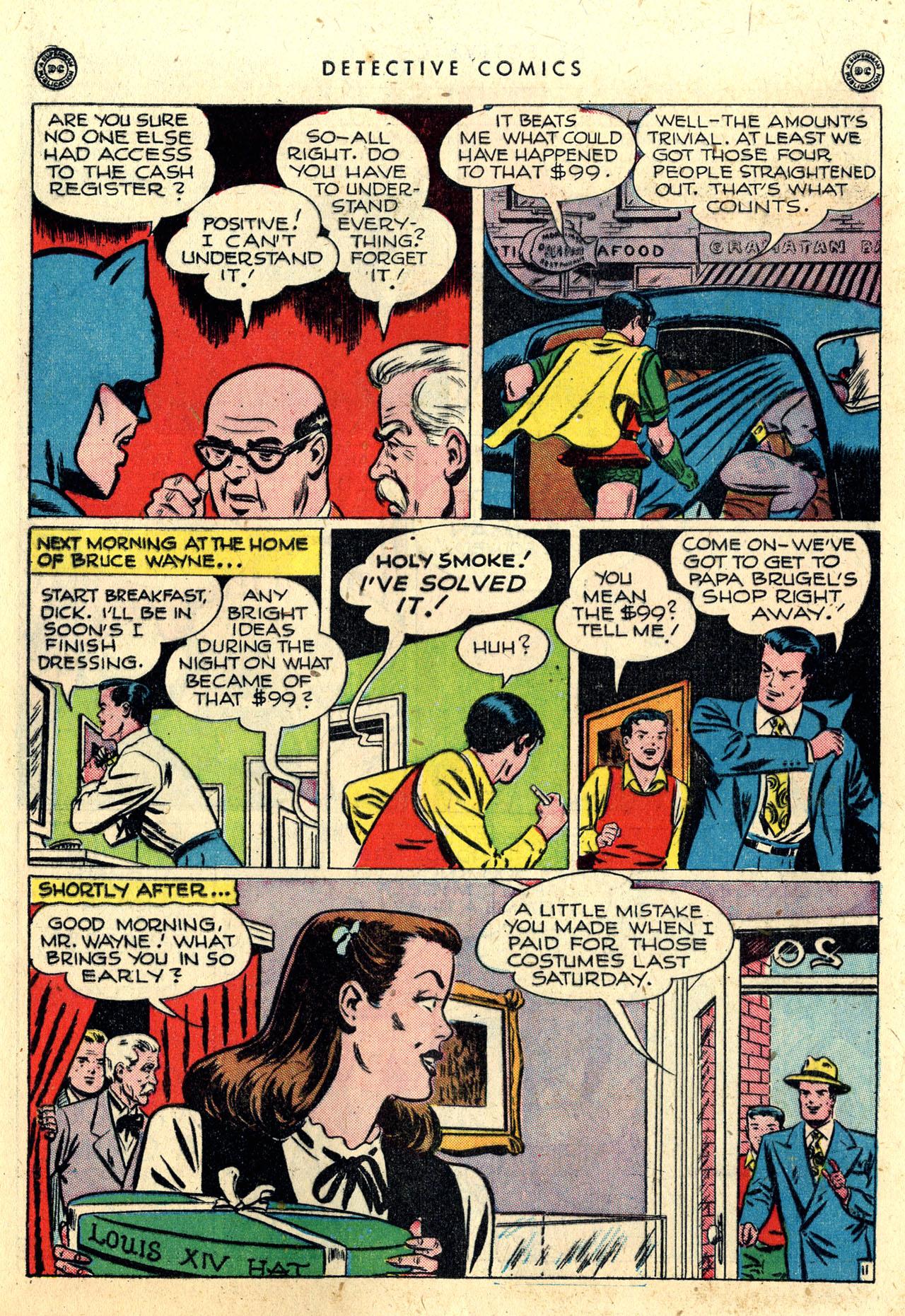 Read online Detective Comics (1937) comic -  Issue #112 - 13