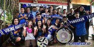 Ratusan Bobotoh Dukung Langsung Persib di Kandang Sriwijaya FC