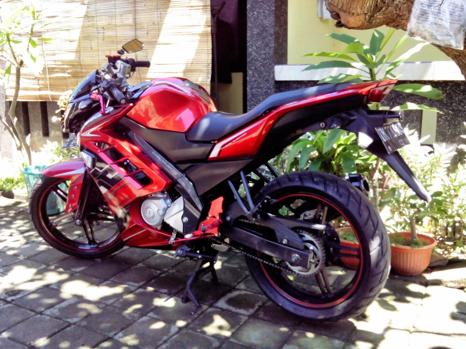 85 Modifikasi Motor Vixion Warna Merah 2013 Terbaru Dan Terkeren