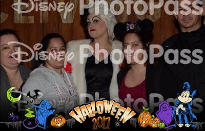 Photo Pass com marca d'água da Disney