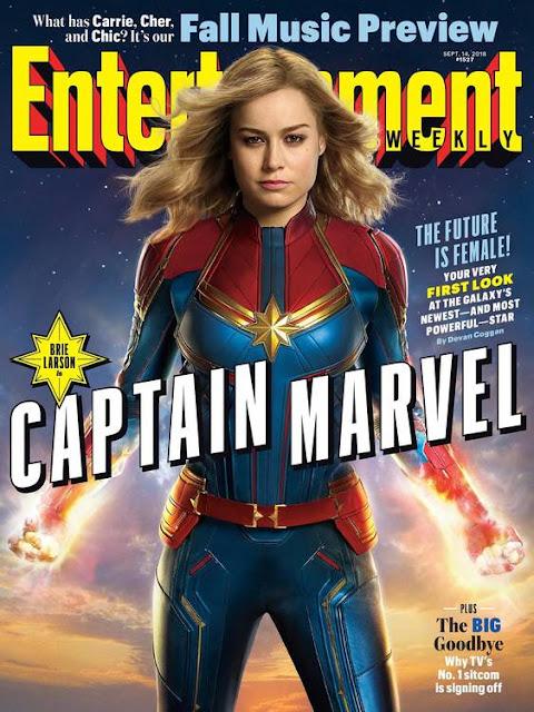 Capitã Marvel Primeiras imagens 01
