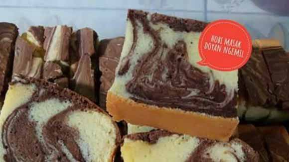 Resep Marmer Cake Jadul Ala Pak Sahak
